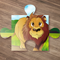 Animal Games for Kids Puzzle icon