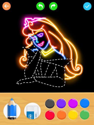 تعلم كيفية رسم لقطات الأميرة 10