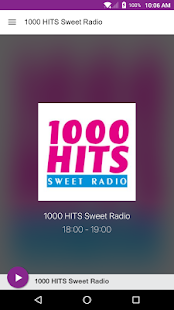 1000 HITS Sweet Radio- screenshot thumbnail