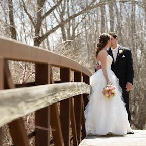 by Devyn Drufke - Wedding Bride & Groom ( wedding )