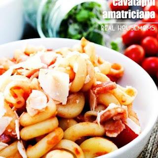 Copycat Carrabba's Cavatappi Amatriciana.