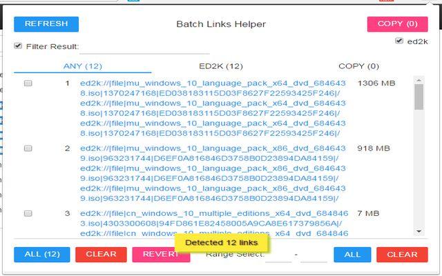 Batch Links Helper