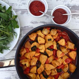 Healthy Persian-Style Saffron Chicken