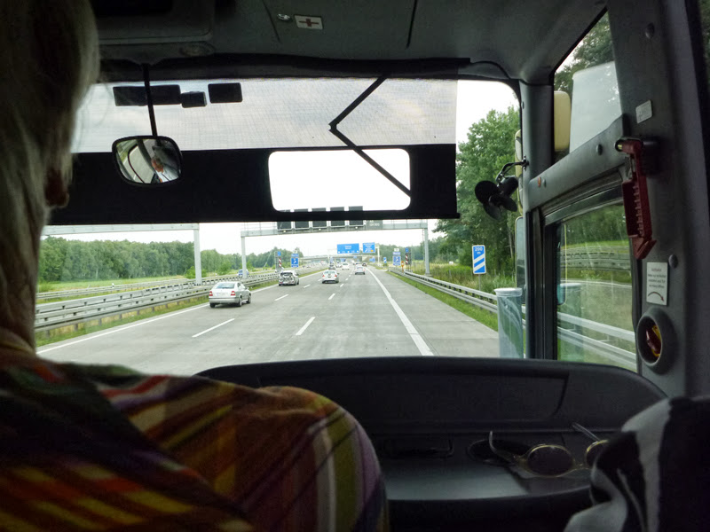 Photo: on the autobahn!