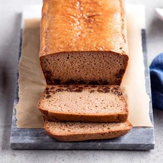 Paleo Cinnamon Raisin Bread