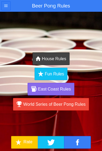 Official Beer Pong Rules