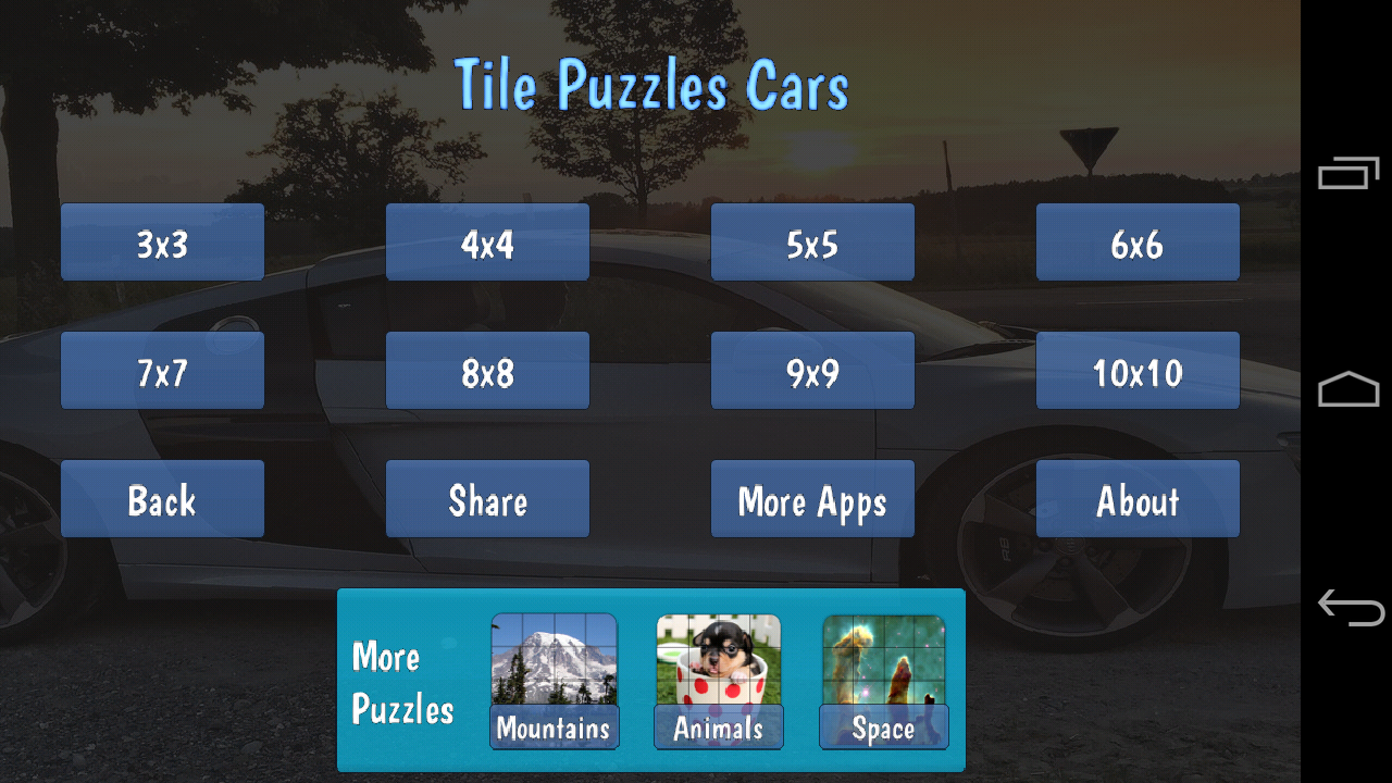 Tile Puzzles · Cars- screenshot