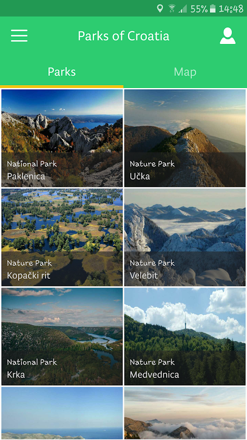 Parks of Croatia- screenshot