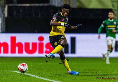 """Débuts réussis pour Ike Ugbo avec le Cercle : """"Je veux aider l'équipe"""""""