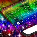 Abstract Colourful Keyboard icon