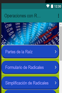 Operaciones con Radicales - náhled