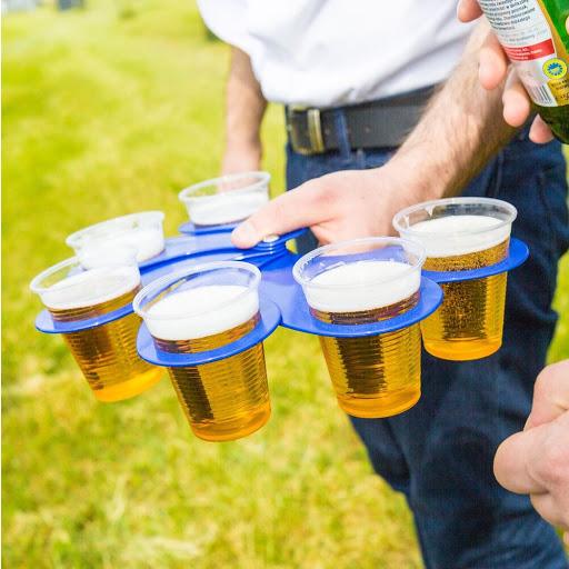 Fold-out Drink Holder