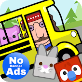 Preschool Bus Driver Game for Little Kids Toddlers
