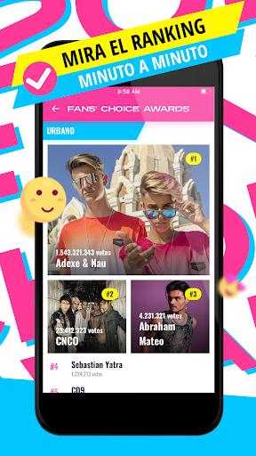 Fans' Choice Awards (FCHA) screenshot 3