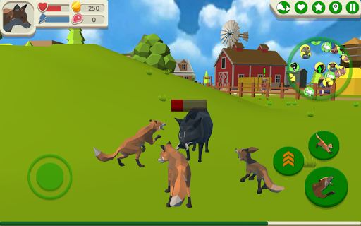 Fox Family - Animal Simulator 3d Game apkmr screenshots 13