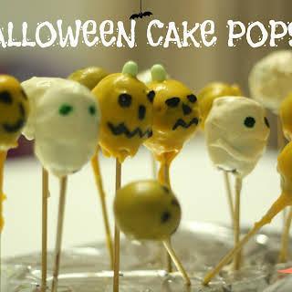 Halloween Cake Pops.