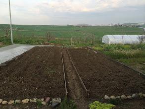 Photo: Hobi Bahçemin yeni sezon hazırlıkları. Toprak havalandırıldı.