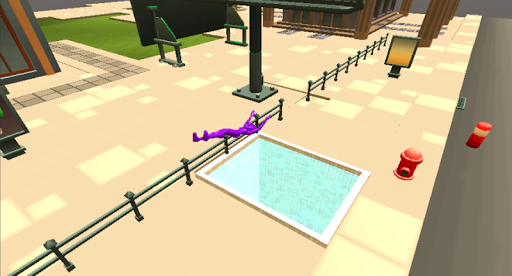 Purple Flipper - screenshot