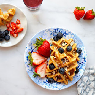 Vegan Coconut Waffles (for Mama + Babe)