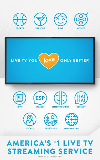 Sling TV: Get Live TV Streaming for $25/mo 6.3.891 screenshots 1