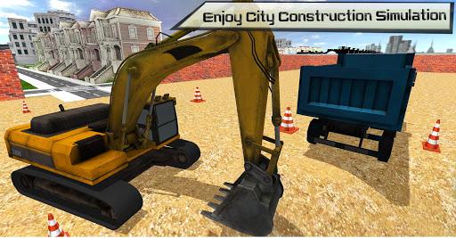 城市建設起重機辛3D