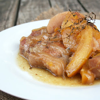 Apple Cider Pork Chops Crock Pot Recipes