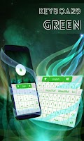 Screenshot of Keyboard Green Theme