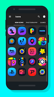 Apl  Light X - Icon Pack untuk Android screenshot