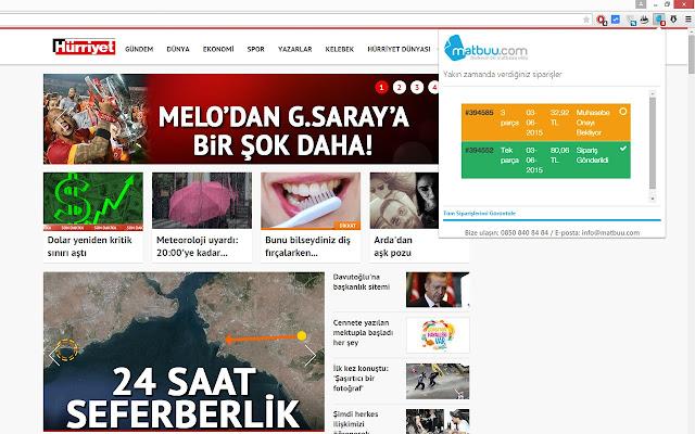 Matbuu.com Sipariş Takibi