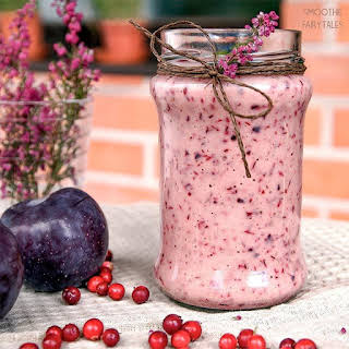 Lingonberry and Plum Smoothie.