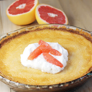 Grapefruit Custard Pie