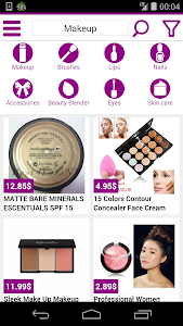 beauty shopping online screenshot 0