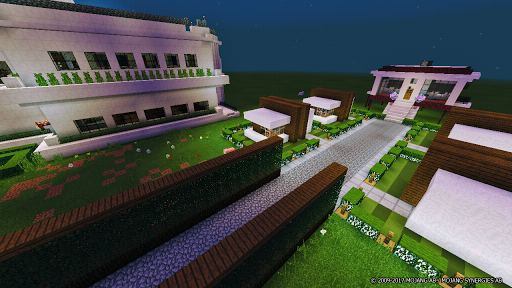 Large School MCPE map for PC