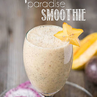 Tropical Paradise Smoothie.
