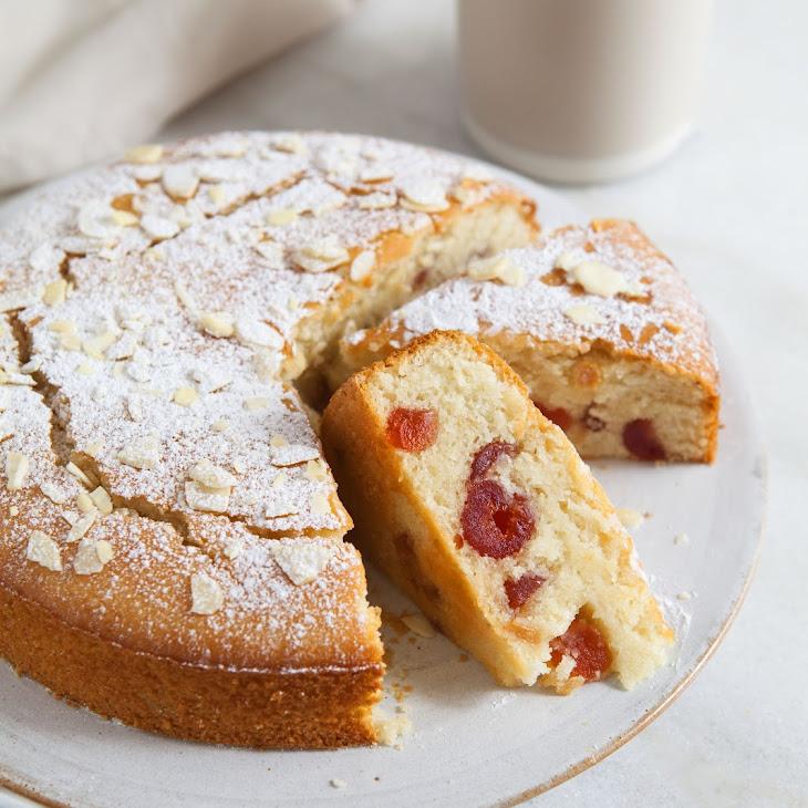 Cherry and almond cake (Vegan, Gluten Free)