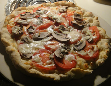 Tomato And Mushroom Pie Recipe