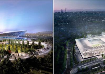 📷 Voici les deux designs pour le futur stade possible qui remplacera San Siro