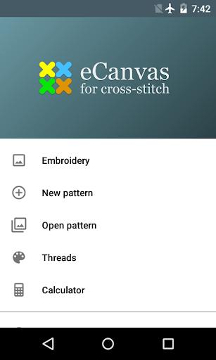 eCanvas for cross-stitch PRO