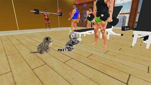 Kitten Cat Vs Six Pack Fitness Master in Gym screenshot 5