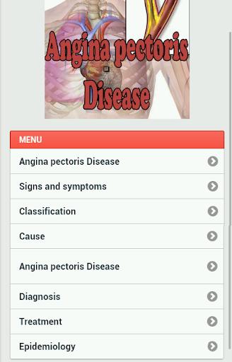 Angina Pectoris Disease