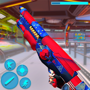 Critical Robot Gun Strike: Robot FPS Shooting Game MOD APK 1.1 (Mega Mod)