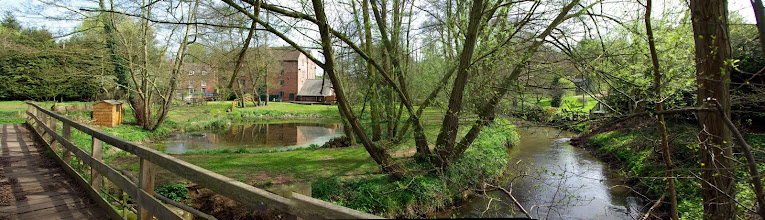 Photo: Rindleford Mill & River Worfe stitched with Microsoft's ICE