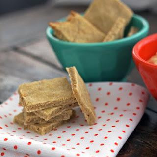 Oatmeal Sesame Seed Crackers.