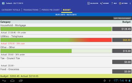 MoBill Budget and Reminder Screenshot 10
