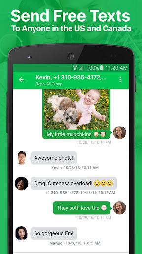 textPlus: Free Text & Calls 7.6.8 Screenshots 11
