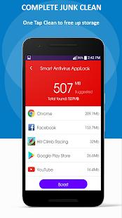 Power Cleaner +Antivirus, Booster,Applocker - náhled