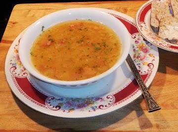 Yellow Split Pea Soup  A Swedish Delight ! Recipe