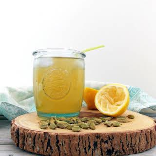 Iced Cardamom Tea.