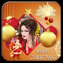 Merry Christmas Photo Frame 2019 icon