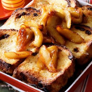 Apple Raisin Baked French Toast Recipe